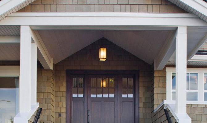 Elegantly Beautiful Craftsman Style Front Doors