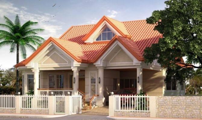 Elevated Bungalow Attic Home Design