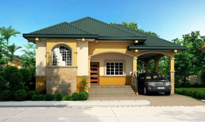 Elevated Bungalow House Design Pinoy Eplans Modern Designs