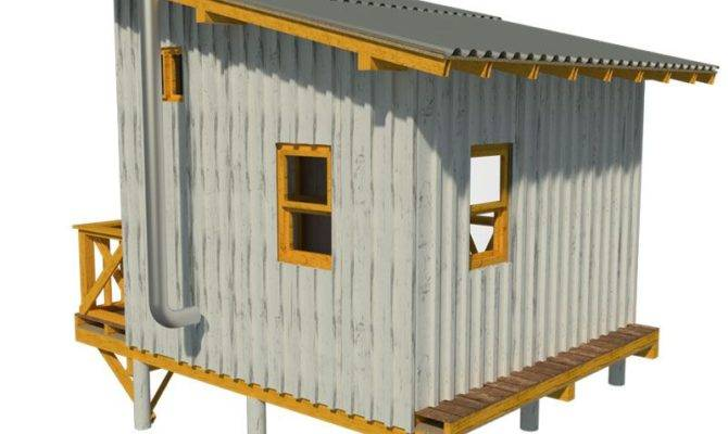 16 Free Small Cabin Plans For A Stunning Inspiration - House Plans