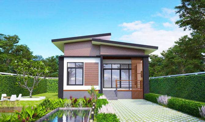 Elevated Modern Single Storey House Pinoy Plans