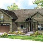Elevation Bungalow Craftsman European Ranch House Plan