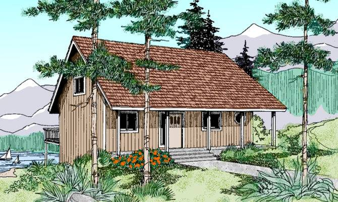 Elm Haven Vacation Cottage Home Plan House