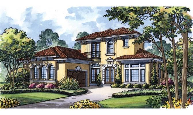 Eloise Manor Italian Style Home Plan House