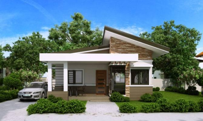 Elvira Bedroom Small House Plan Porch Pinoy Plans