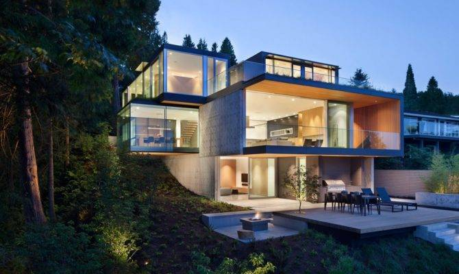 Embracing Nature Russet Residence Slyce Design Freshome