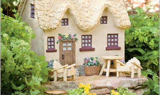 Enchanted Miniature Fairy Gardens Houses