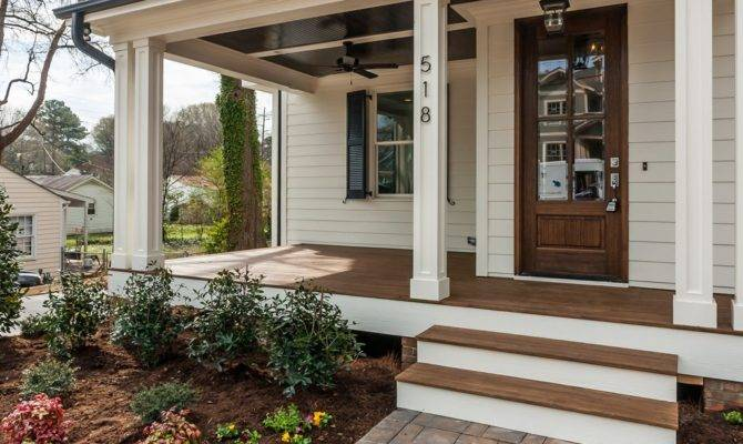 Enclosed Farmhouse Front Porch Bistrodre