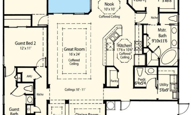 Energy Efficient House Plan Architectural