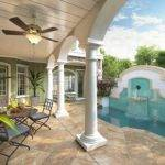 Energy Saving Courtyard House Plan Floor