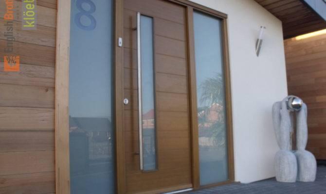English Brothers Modern Timber Front Door Kloeber Funkyfront
