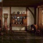 English Cottage Kitchen Queen Anne Period