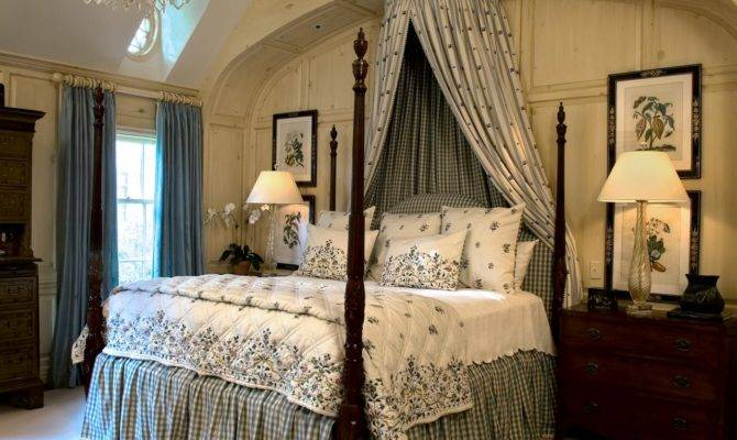 English Country Bedroom Ideas