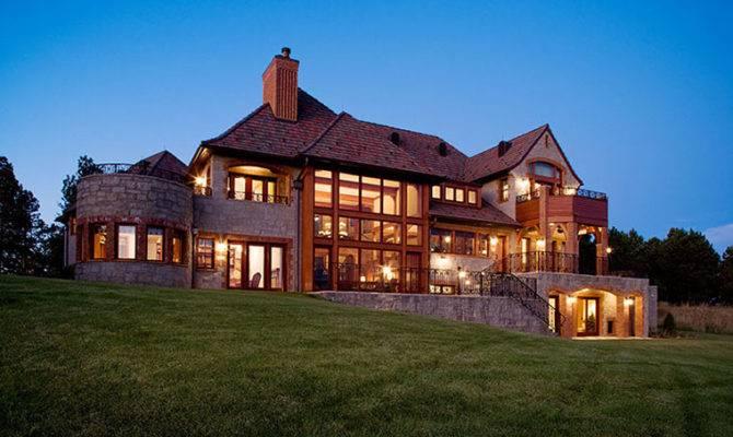 English Country House Style Home Western South Dakota Felhandler