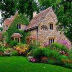 English Manor Garden House Pinterest