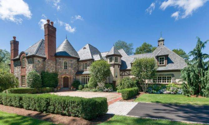English Manor Style Home North Castle New York Homes