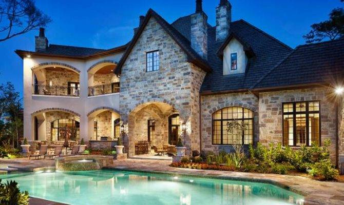 English Manor Style Home Plans Architecture Interior