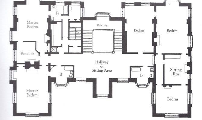 English Mansion Floor Plans Homes