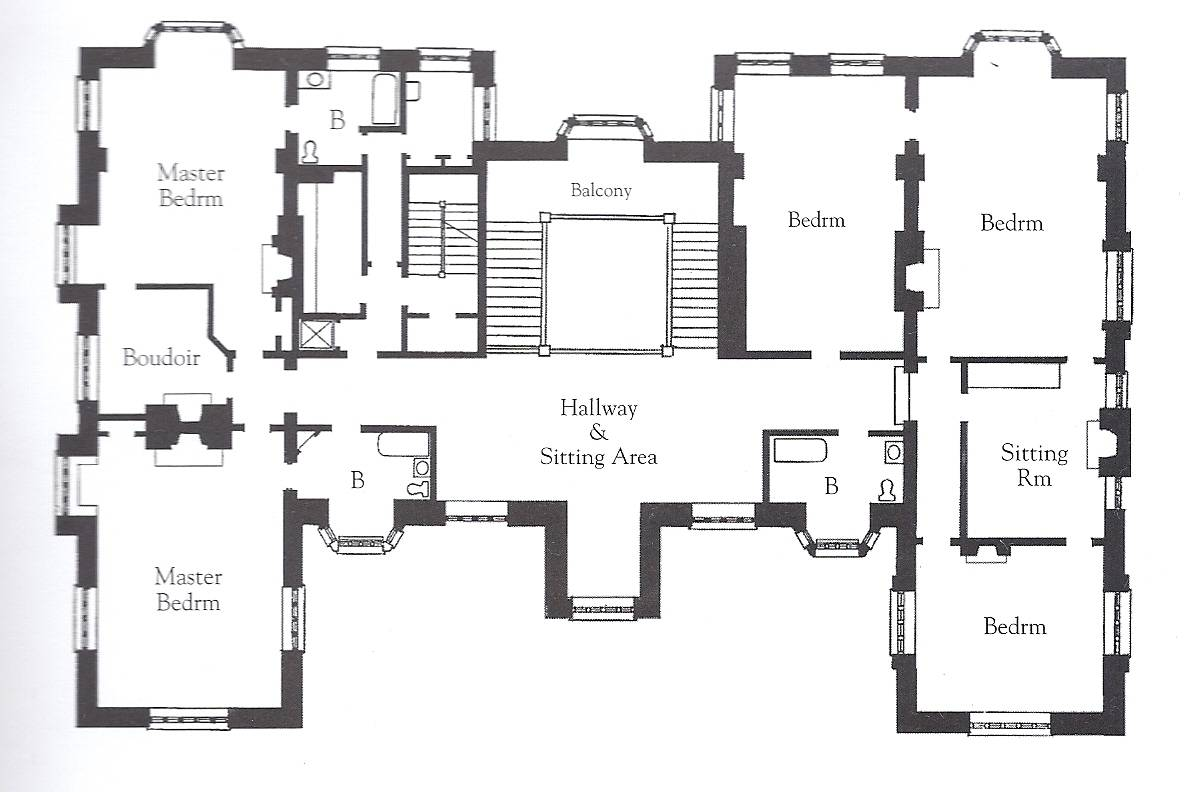 English Mansion Floor Plans Homes House Plans 93188