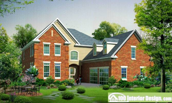 English Style Country House Design