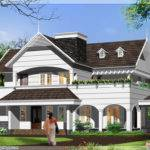 English Style House Kerala Home