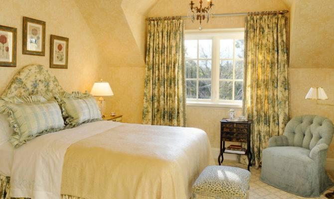 English Tudor Traditional Bedroom San Francisco