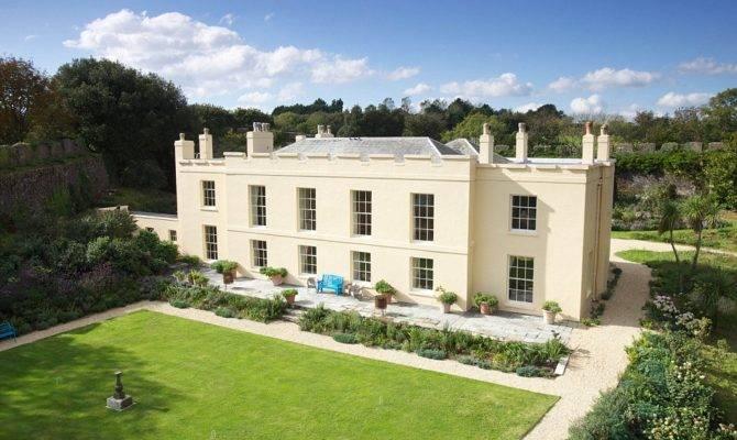 Englishman Home His Castle Beautiful Cornish Manor House