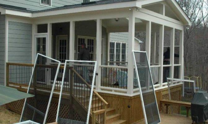 Enjoying Scenery Enclosed Porch Kits