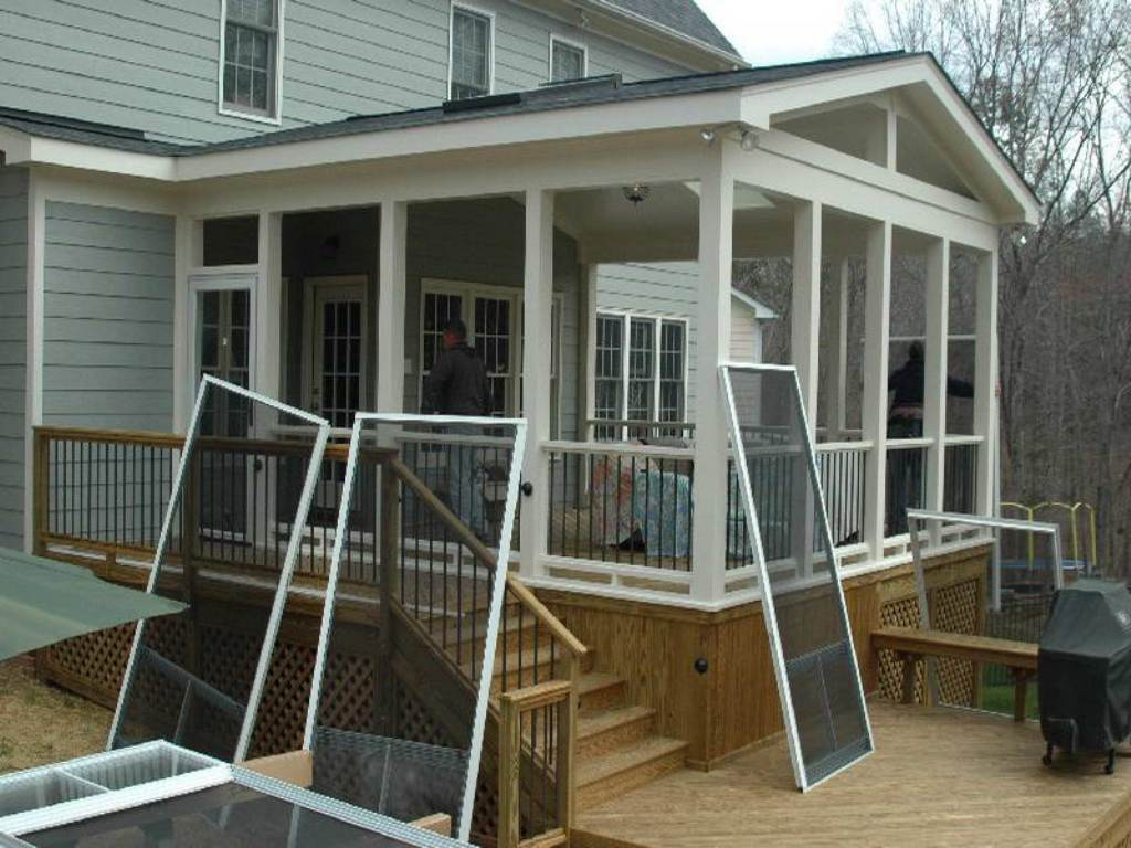 Image of: 24 Enclosed Porch Plans For A Jolly Good Time House Plans