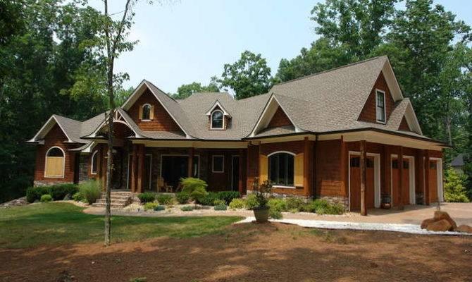 Enter Mountain Lodge Style Home Feel Like