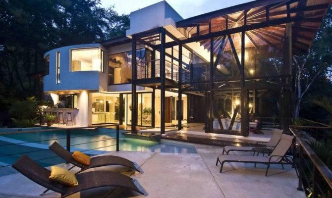 Environmentally Friendly Luxury House Costa Rica Idesignarch