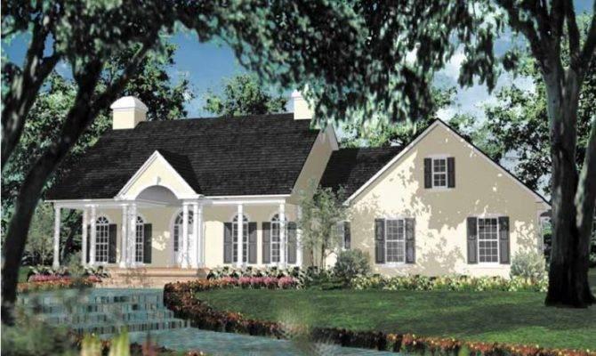 Eplans Adam Federal House Plan Impressive