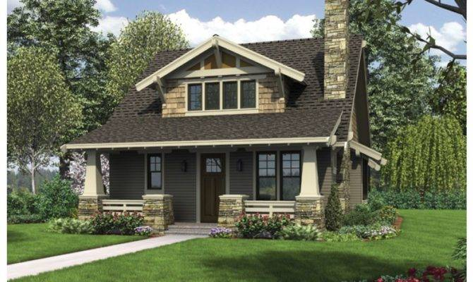 Eplans Bungalow House Plan Classic Craftsman Loft