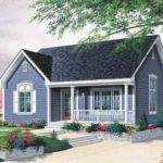 Eplans Bungalow House Plan Cottage Comfort Square Feet