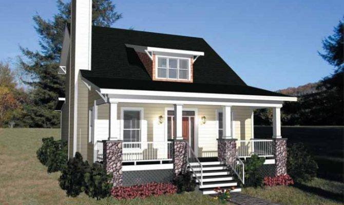 Eplans Bungalow House Plan Simple Square Feet