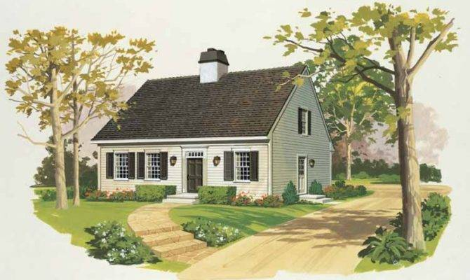 Eplans Cape Cod House Plan Charmer Square Feet