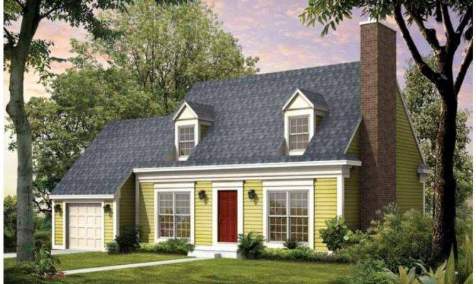 Eplans Cape Cod House Plan Square Feet