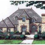 Eplans Chateau House Plan Beautiful French Stone Home Square