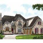 Eplans Chateau House Plan European Inspired Luxury Square