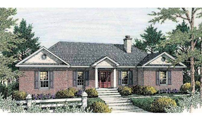 Eplans Colonial House Plan Contemporary Square Feet