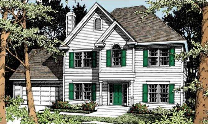 Eplans Colonial Revival House Plan Classic Design