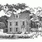 Eplans Colonial Revival House Plan Perfect Small Lot