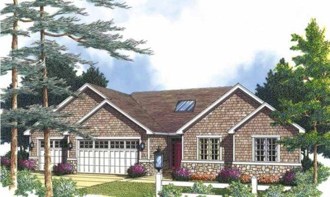 Eplans Cottage House Plan Brick Bungalow Stone Accents