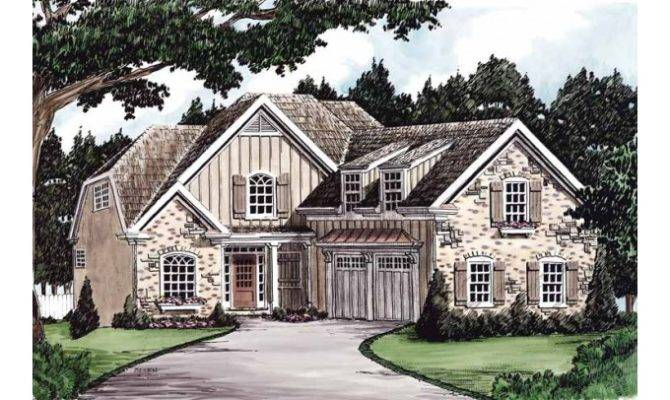Eplans Cottage House Plan Dutch Colonial Home Square Feet