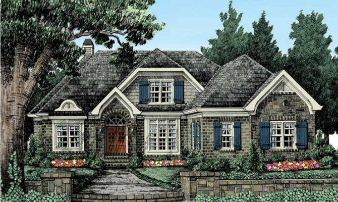 Eplans Cottage House Plan Fairytale Charm Square Feet