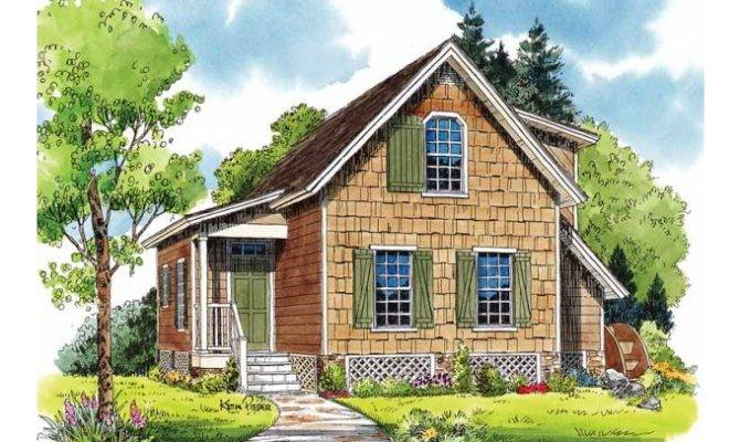 Eplans Cottage House Plan Mill Springs Southern Living