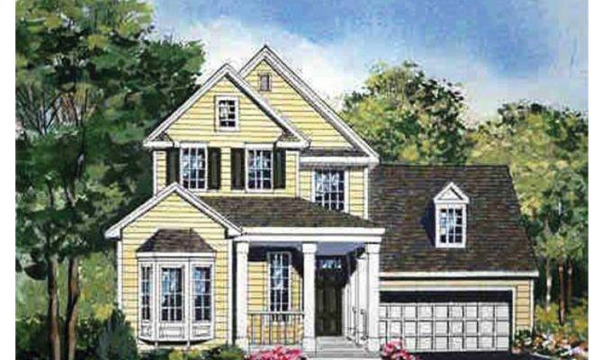 Eplans Cottage House Plan Narrow Lot Design Packed Country