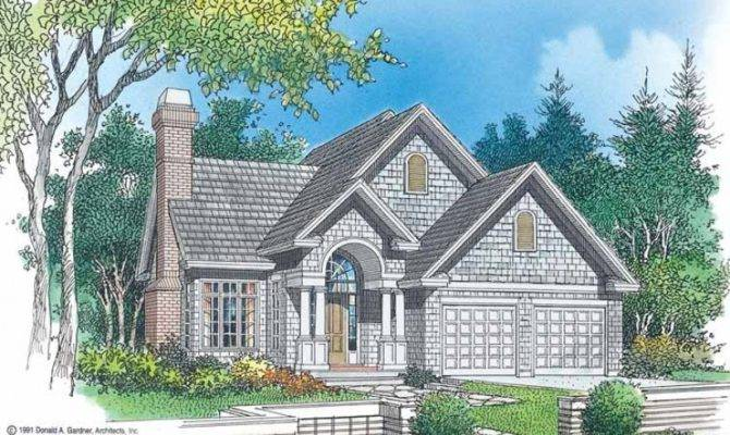 Eplans Cottage House Plan Narrow Lot Masterpiece Square Feet