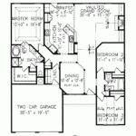 Eplans Cottage House Plan Single Story Upscale Amenities