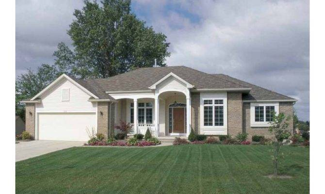 Eplans Country House Plan Big Bright Kitchen Square Feet